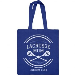 Lacrosse Mom Custom Tote