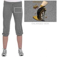 Beewear Jersey Crop Pants for Juniors