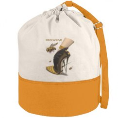 Beewear Canvas Beach Duffel Bag