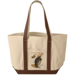 Beewear Canvas Gym Tote Bag
