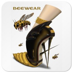 Beewear Square Coaster