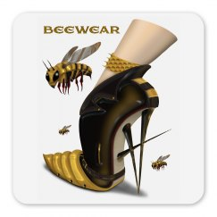 Beewear Square Magnet