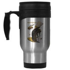 Beewear 14oz Stainless Steel Travel Mug
