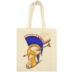 Achilles Heel Medium Canvas Tote Bag