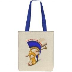 Achilles Heel Cotton Canvas Tote Bag