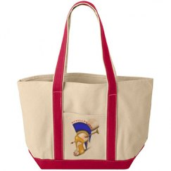 Achilles Heel Canvas Gym Tote Bag