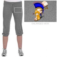 Achilles Heel Jersey Crop Pants for Juniors