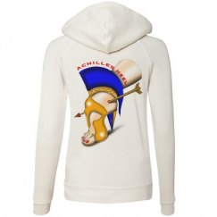 Achilles Heel Eco Fleece Front Zipper Hoodie Junior Fit