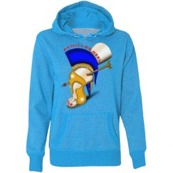 Achilles Heel Loose Fit Glitter Hoodie for Misses
