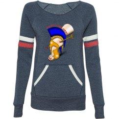 Achilles Heel Eco-Fleece Sport Wideneck Sweatshirt Miss