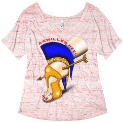 Achilles Heel Flowy Slouchy T-Shirt for Women