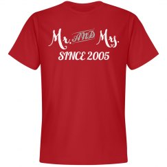 Mr & Mrs since 2005