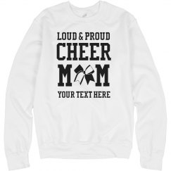 Custom Text Cheer Mom