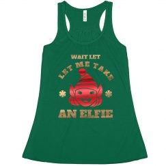 Take An Elfie Metallic Christmas