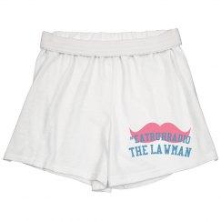 Mustache Support The Lawman EA Truth Radio Girl's Boxer