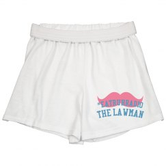 Mustache Support The Lawman EA Truth Radio Girl's Boxer