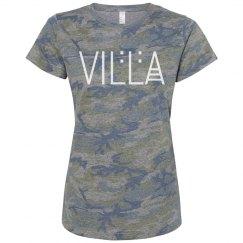 Ladies Camo Villa Tee