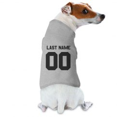 Custom Sports Dog Baseball Tee