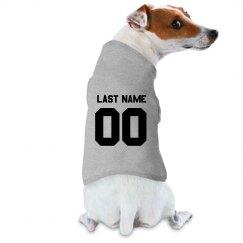 Custom Sports Dog Baseball Tee