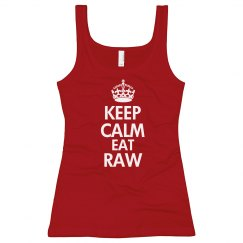 keep calm eat raw