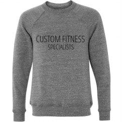 CFS Unisex Triblend Crewnect Sweatshirt