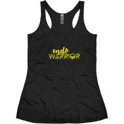 Endo Warrior Endometriosis Yellow Awareness Month Tank