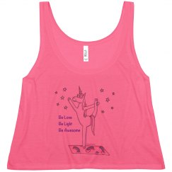 Be Love, Be Light, Be Awesome tank