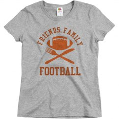 Thanksgiving Football Tee
