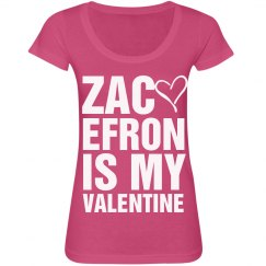 Zac Is My Valentine