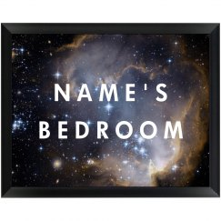 Custom Galaxy Space Plaque For Room