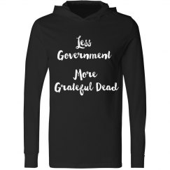 Less Government More Grateful Dead Shirt