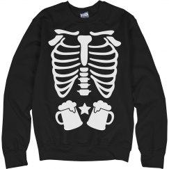 Skeleton Beer Belly