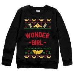 Wonder Girl Ugly Sweater Design