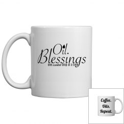 Oil Blessings - Coffee. Oils. Repeat.