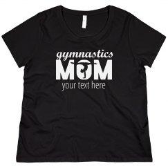 Gymnastics Mom Custom Plus Size