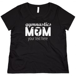 Gymnastics Mom Custom Plus Size