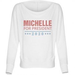 Michelle Obama 2020 Long sleeve