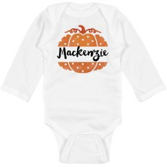 Custom Name Halloween Onesie