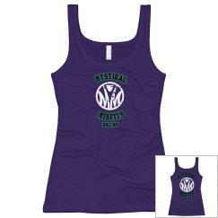 Girls Design 10: Misfits girl dark purple tank w/ back