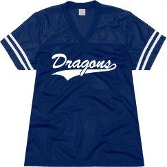 DeRidder dragons shirt.