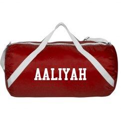 Aaliyah sports roll bag