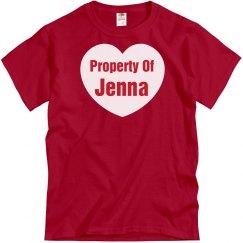 Property Of Jenna