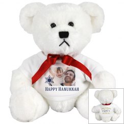 Chag Sameach Custom Photo Bear