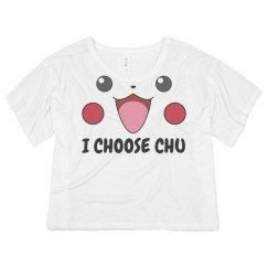 It's Chu I Choose
