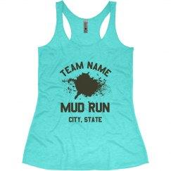 Customizable Mud Run Race Tanks