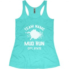 Customizable Mud Run Race Tanks