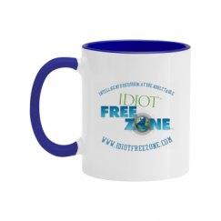 11oz Two Tone Ceramic Coffee Mug