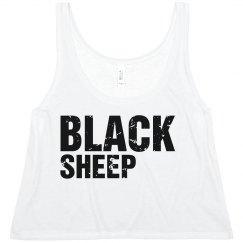 Black Sheep Red Grunge