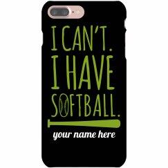 Softball Practice Phone Case