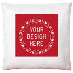 Flip Sequin Pillow Cover